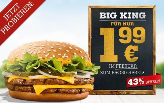 Big King für 1€