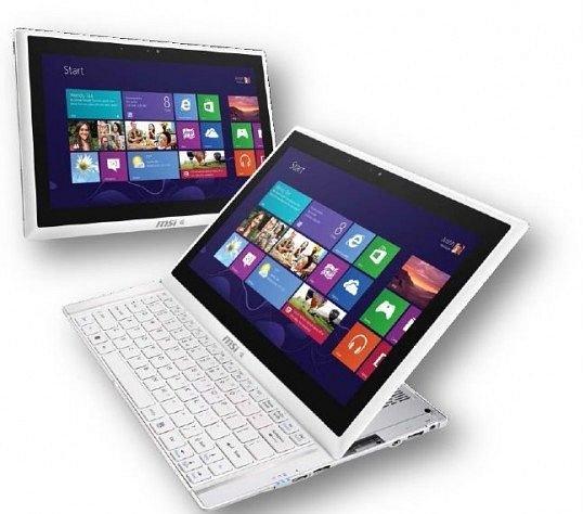 MSI Slider S20-i541 Full HD IPS Convertible Ultrabook mit 128GB SSD