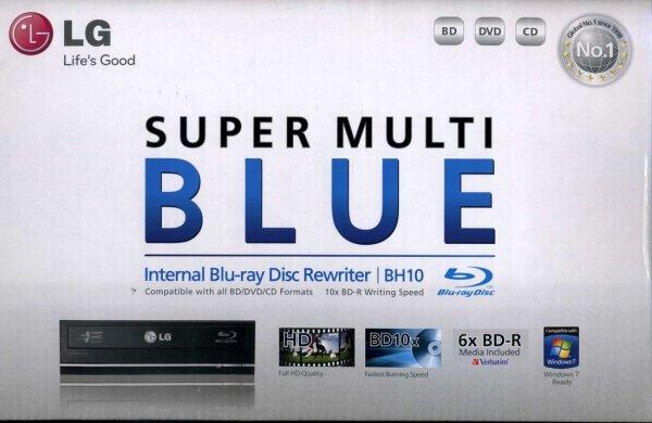 [LOKAL ESSEN] LG BH10LS30 BluRay Brenner inkl. 6x BluRay Rohling für 63,00€ im ProMarkt Essen