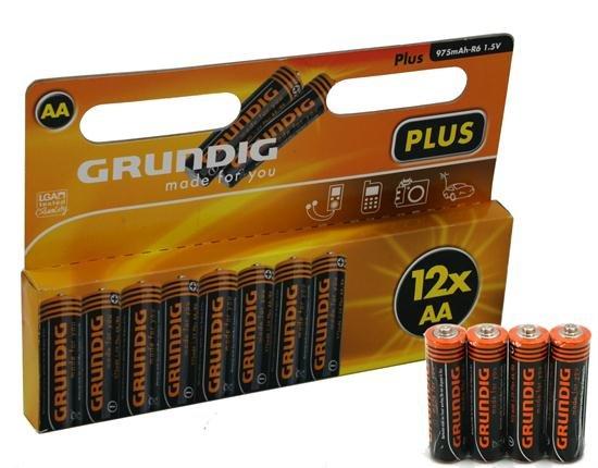 12x PACK AA GRUNDIG PLUS MIGNON BATTERIE SET für 2,99€ incl Versand bei ebay.