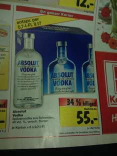 [ lokal:Berlin ahrensfelde u. Biesdorf] 6x Absolut vodka