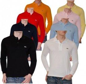 [Rakuten.de Super Sale] LACOSTE langarm Poloshirt, verschiedene Farben
