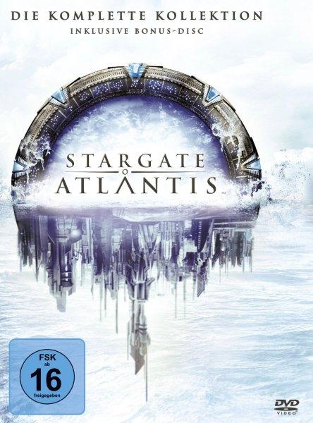 Stargate: Atlantis - Die komplette Kollektion (inkl. Bonus-Disc) für 55,97 €