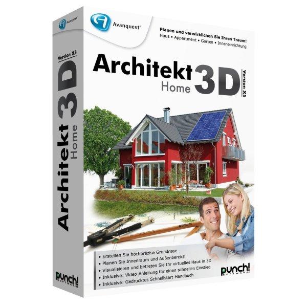 Architekt 3D X5 Home für nur 13,38 EUR inkl. Versand