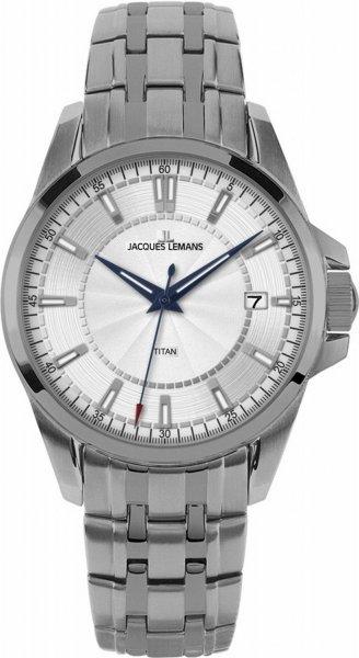 Jacques Lemans Herren-Armbanduhr XL 1-1704E für nur 150 EUR inkl. Versand