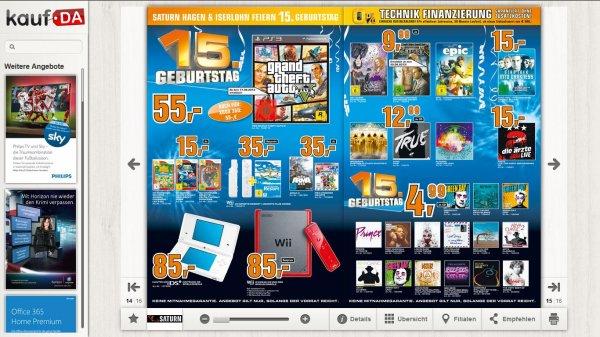 Saturn Hagen/Iserlohn GTA 5 55€ (PS3/XBOX360)