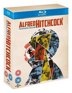 Alfred Hitchcock: The Masterpiece Collection (14 Blu-rays) 65,79€ inkl. Versand @ Amazon.uk