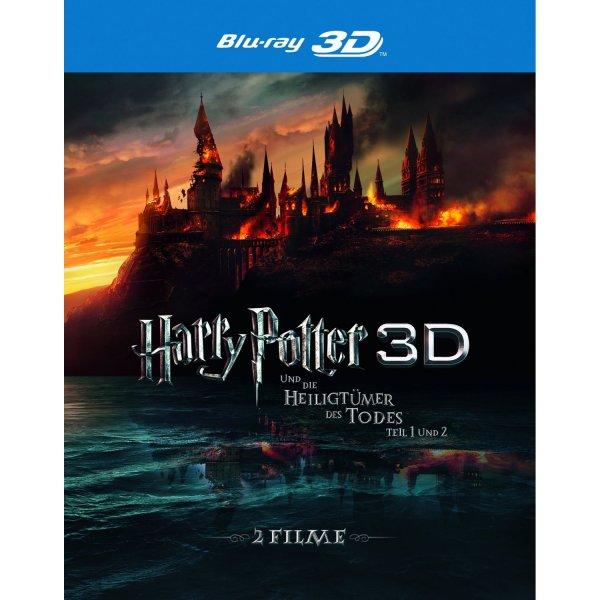 (Amazon) Harry Potter: Heiligtümer des Todes Teil 1 und 2 Blu-Ray 3D