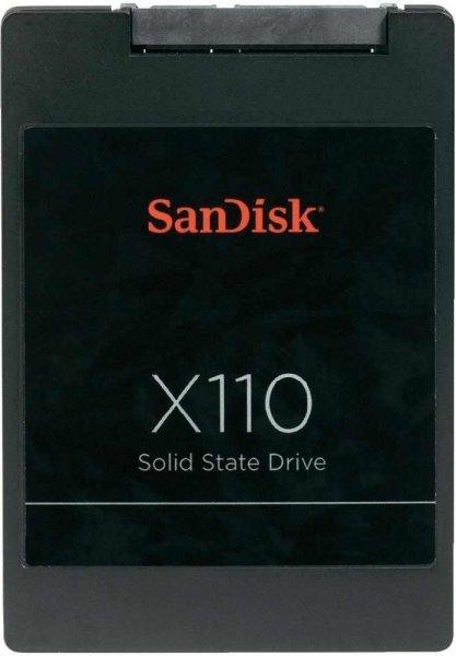 Sandisk X110 SSD 2.5 128GB für 90€ @Voelkner