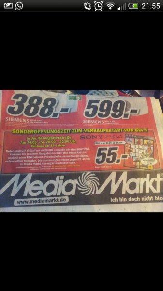MediaMarkt wiesbaden GTA 5 PS4