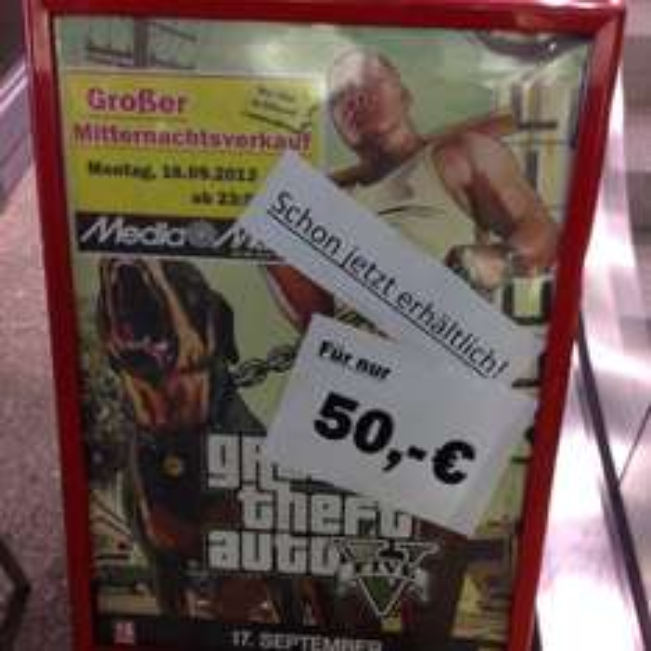 GTA V im MM Hamburg Altona 50€