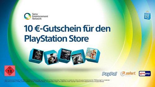 Playstation Store: 50€ Guthaben kaufen und 10€ Guthaben Gratis bekommen