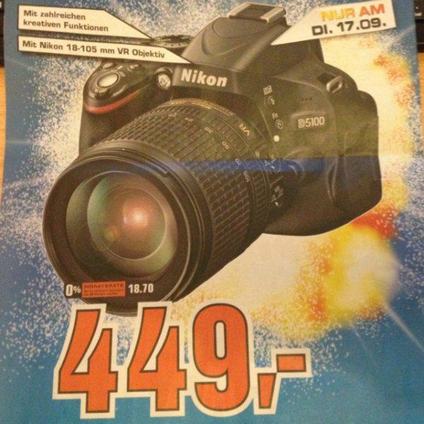 [Berlin(Lokal?)] Nikon D5100 + AF-S DX 18-105mm VR