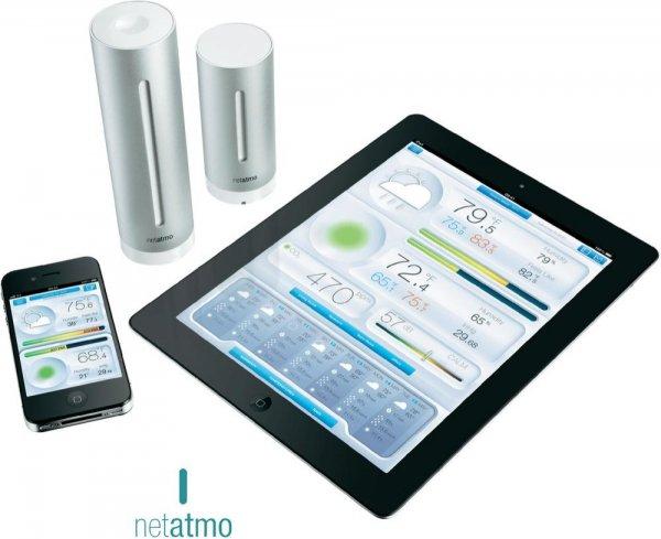 Netatmo Wetterstation für iPhone/iPad/iPod und Android 148,00€ inkl. VSK@voelkner.de