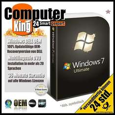 Windows 7 Ultimate (Gebraucht) @ Ebay