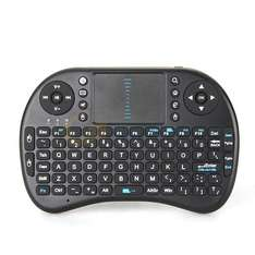 2.4GHz USB Wireless QWERTY Mini Tastatur Touchpad Android TV Box Xbox 360 PS3