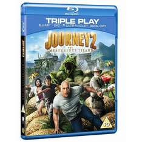 Blu-ray - Die Reise zur geheimnisvollen Insel (2 Discs) für €5,95 [@Wowhd.co.uk]