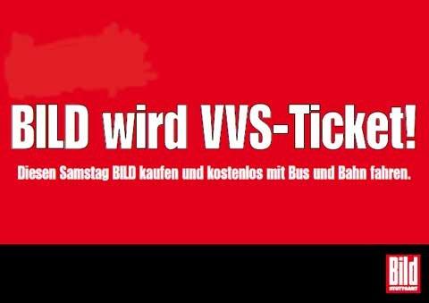 Am 21. September für 0,70 €  durchs gesamte VVS-Netz fahren.