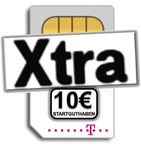 Xtra Prepaidkarte mit 10€ Startguthaben für 3€ @Ebay
