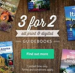 Reisebücher: [UPDATE 3] bis zu 33% Rabatt bei Lonely Planet (3 kaufen, 2 zahlen)