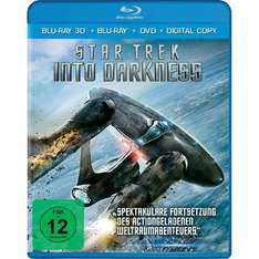 3D Blu-ray Star Trek - Into Darkness - Superset (+ 2D Blu-ray + DVD) für 19,95 bei conrad
