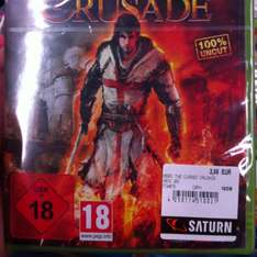 (Lokal?) The cursed crusade xBox 360