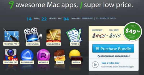 Fall Mega Bundle von MacUpdate mit Civilization V: Gold Edition und 8 weiteren Apps für nur 37,35€