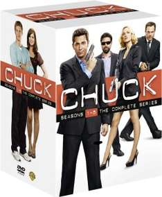 CHUCK - SEASONS 1-5 DVD (23 DVDs) engl. 41,45€