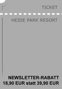 Günstige Tickets für Freizeitparks (Heidepark, Legoland, Fort Fun, Babelsberg etc.)