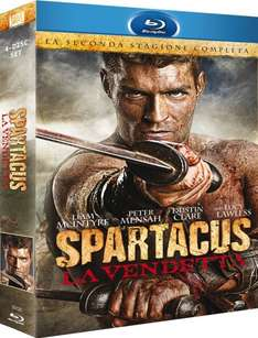 [Amazon.it] Spartacus: Vengeance - Die komplette Season 2 Blu-ray Uncut