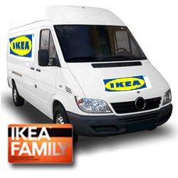 """Umzugswagen bzw. Transporter """"auf die schnelle"""" & übernacht zum Ikea-Preis von Ikea.."""