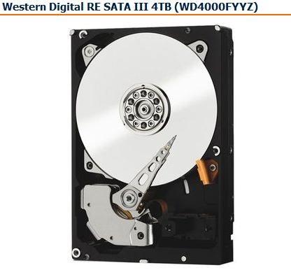 WD RE WD4000FYYZ 4TB Festplatte für Server NAS@Rakuten