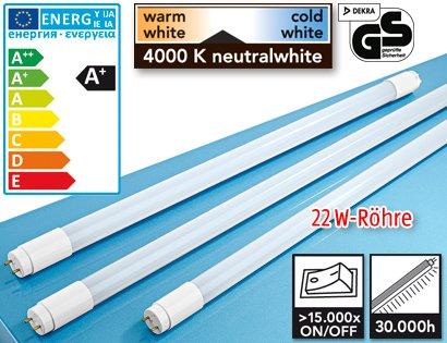 [ALDI SUED] LED Röhren zB 150 cm 22 Watt