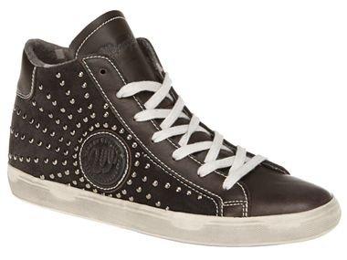 Lidl - Wrangler Footwear Damen-Sneaker JASPER STUDS-COFFEE