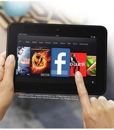 Lokal Duisburg Saturn: Kindle Fire 99 €, Fire HD 119 € (16 GB) / 139 € (32 GB)