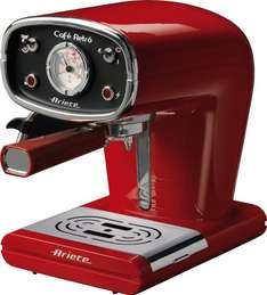 Ariete Cafè Retro Siebträgermaschine rot für 105,58 €, schwarz für 100,76 € @Amazon.it