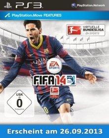 FIFA 14 (360/PS3) für 54,95 EUR + 16,20 EUR für den nächsten Einkauf, sonstige Plattformen ab 34,95 EUR