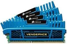 Corsair Vengeance blau DIMM Kit 4x4GB=16GB, DDR3-1866, CL9 für €112,17