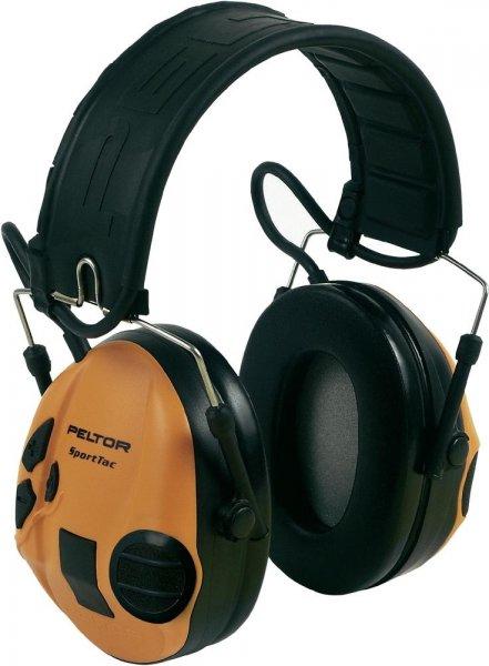 Peltor 3M SportTac , aktiver Gehörschutz in Grün / Orange @ voelkner