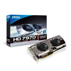 MSI RADEON HD 7970 Twin Frozr III Boost Edition, 3072 MB DDR5
