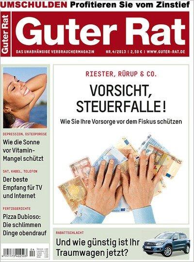 """""""Guter Rat"""" für effektiv 2,60€ durch Bargeldprämie"""