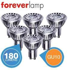 [iBood] 6er-Pack Foreverlamp 5W LED-Spot mit 180 Lumen in 2700K warmweiß 35,90 inkl. VK