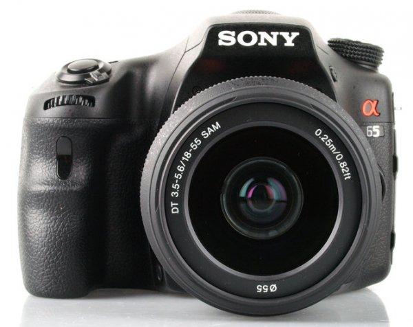 Sony SLT-A65V Body bei Amazon Frankreich für € 574,14