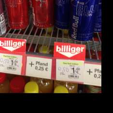 [Lokal] Red Bull / The Blue Edition / The Red Edition / für 0,50 € bei Mäc-Geiz in Bad Oeynhausen
