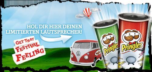Pringles für 1,29€ @ Lidl + Lautsprecher gratis