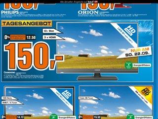 [Lokal Saturn Boulevard Berlin] Changhong 81cm TV für 150,00€ nur am 22.09.13