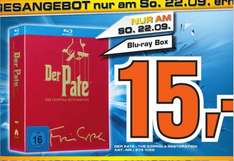 [ LOKAL Saturn Berlin ]  Der Pate - The Coppola Restoration [Blu-ray Box]  Tagesangebot nur am 22.09.13  15€