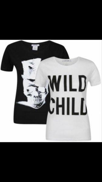 Günstige Shirts für Mädels mit ggf. 3 Euro VSK versandkosten