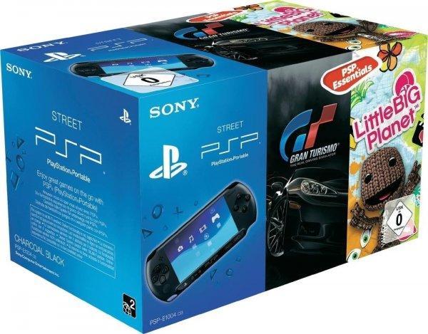 SONY PSP-E1000 inkl. GrandTurismo + Little Big Planet NUR für 97€ @Rakuten