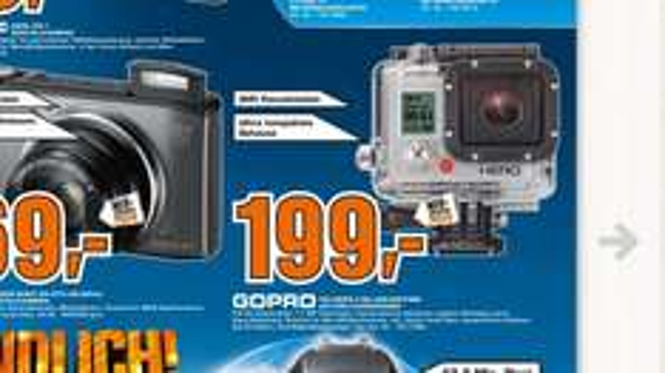 [Lokal Paderborn] GoPro Hero 3 Silver Edition @Saturn 199€